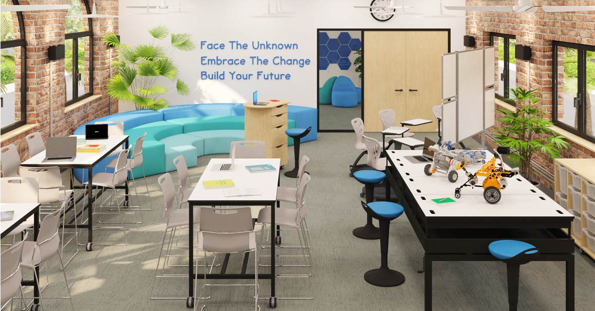Definitive Guide How To Apply Colours In The Learning Environment Bfx Furniture